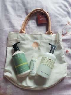 BN Crabtree & evelyn body lotion