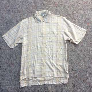 BURBERRYS POLO SHIRT CREAM