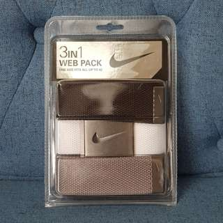 Nike Belt 3n1 Pack (bought from U.S)