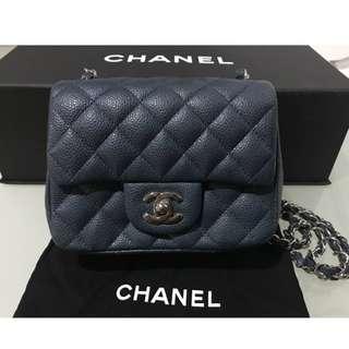 Authentic Chanel Classic Mini Square Bag