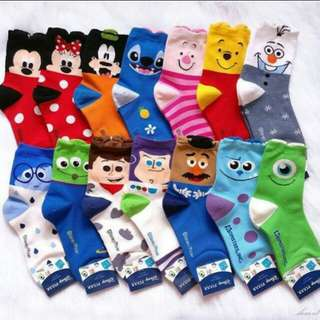 Disney Socks (All designs are available) 👀