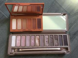 URBAN DECAY Palette Bundle (NAKED PETITE HEAT and NAKED 3)