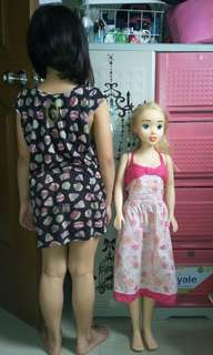Dolly Doll (tall for only 399 orig price 1,000)