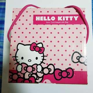 Lock & Lock Hello Kitty lunch set