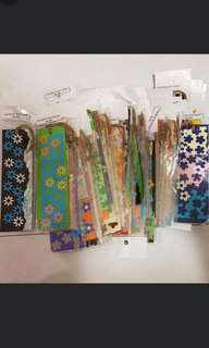 Bookmark bundle $12