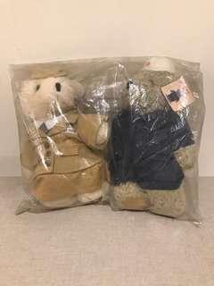 MTR (Hong Kong) Bears (Technician bear and Train Ambassador Bear)