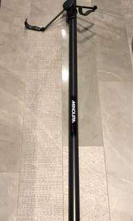 Solid bike pole hanger made in Japan