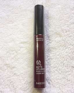 The Body Shop Matte Lip Liquid Mauritius Dahlia
