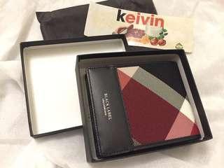 Black label wallet
