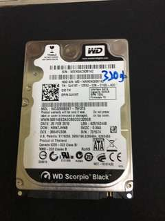 320GB 2.5 Hardisk
