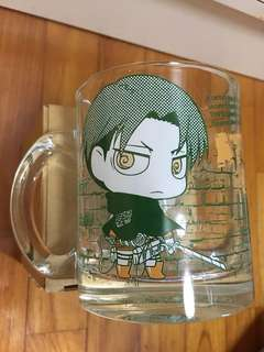 Eren Yeager and Levi Attack on Titan Mug/Cup