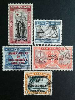 Cook islands used stamps