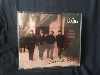 The Beatles live at the BBC double CD album