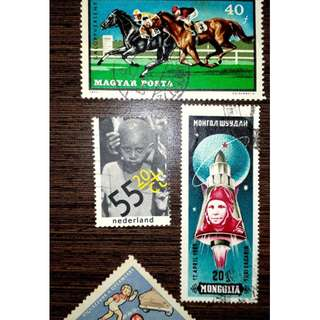 SALE DUTCH STAMP
