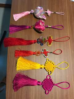 Assortment of Chinese decorations