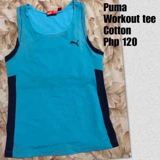 Puma Workout Top (Cotton)