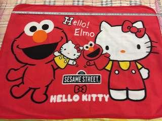 Japan Hello Kitty x Elmo Blanket x 2 pcs