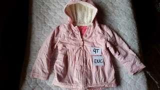 Cherokee winter hoodie jacket 4t