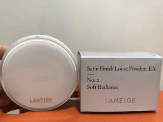 Laneige Satin Finish Loose Powder_EX No. 2