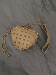 Spiked Heart Evening Bag from HK