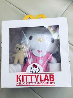Hello Kitty 公仔 2009年麥當勞