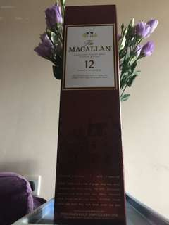 2011 Macallan 12 years old single malt scotch whisky