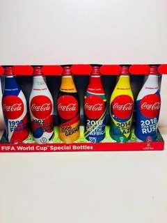 Japan 可口可樂 Coca-Cola 2018 World Cup 世界盃 世界杯 限量版 紀念樽 紀念瓶 鋁樽 全六種