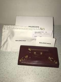 Balenciaga Wallet Red