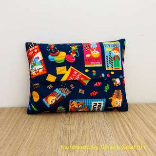 'Snack Time !' Travel Tissue Pouch