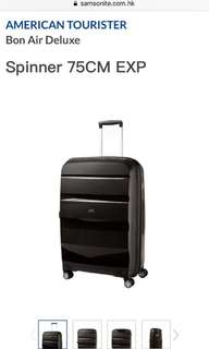 "American tourister luggage 20"" 24"" 28"" 黑 白 行李箱 喼"