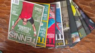 Old Tennis Magazines