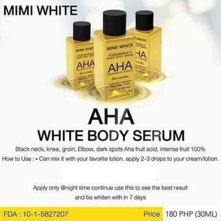 💯 AUTHENTIC MIMI WHITE AHA SERUM from THAILAND