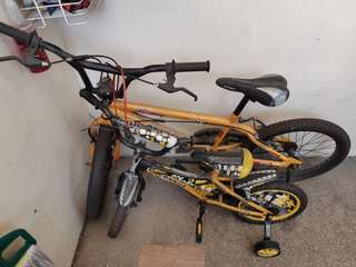 Kiddie Bike and BMX Bike