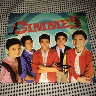 Gimme5 Signed Album