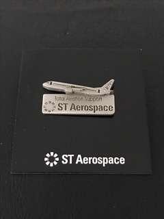 🛫 Aerospace Aeroplane Collar Pin Badge