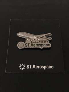 🛫 Aerospace Aeroplane Boeing 757-200 Collar Pin Badge