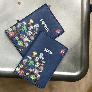 CUSTOM PASSPORT HOLDER avengers