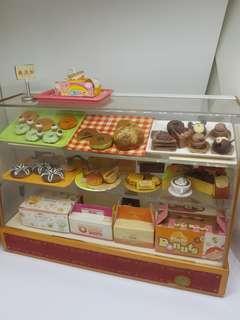 Full bakery miniature set