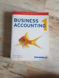 Business Accounting Textbook 5th Edition