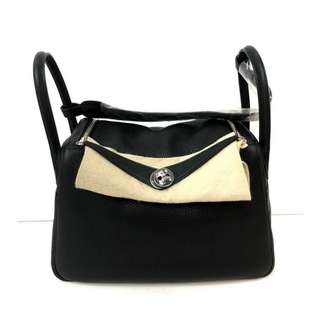Authentic Hermes Lindy 30 Black