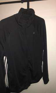 Adidas black jacket size M