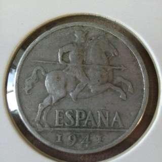 1941 Spain 10¢