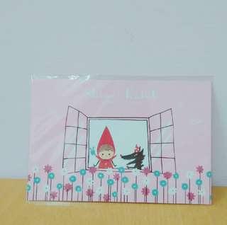 🚚 小紅帽展明信片