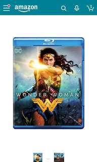 🍓Ready Stock: Wonder Woman Bluray (NEW,Mint-wrapped and Not Open)