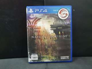 PS4 Natural Doctrine (Used Game)
