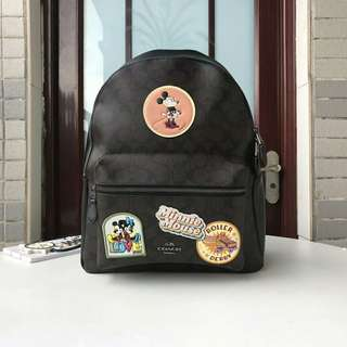 Coach backpack disney