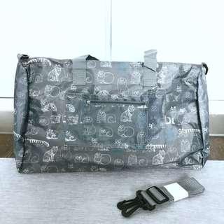 日本大熱牌Lisa & Johanna Larson 貓貓圖案實用旅行袋
