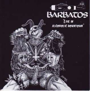 Thrash / Punk metal cd Barbatos - Live in Alcoholic Downtown