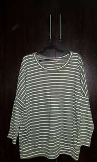 Stripes sweatshirt