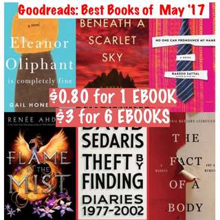 (ebook) Goodreads: Best Books of the May 2017
